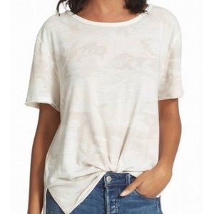 We The Free People Camo Print Relaxed Fit Small